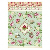 Model 205 -Rice Paper Decoupage