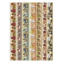 Model 279 -  Rice Paper Decoupage