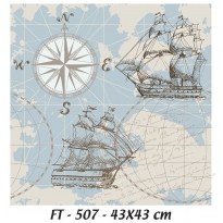 KT-507 43x43 Fabric Transfer