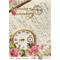 Model 514- Rice Paper Decoupage