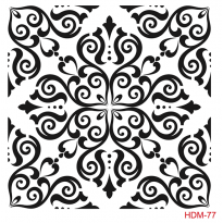 HDM77 Home Decor Midi Stencil