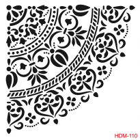 HDM110 Home Decor Midi Stencil