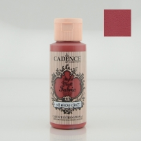608 Coral Red Matt Fabrıc Paınts  59ML(cc)