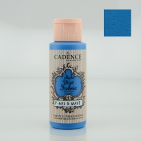 631 Royal Blue Matt Fabrıc Paınts  59ML(cc)