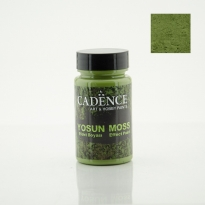 3640 Dark  Green Moss Effect Paint