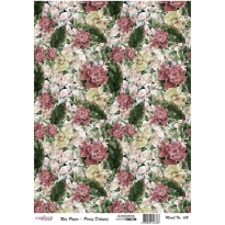 Model 612 - Rice Paper Decoupage