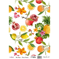 Model 617 - Rice Paper Decoupage