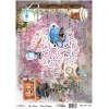 Model 652- Rice Paper Decoupage