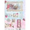 Model 653- Rice Paper Decoupage