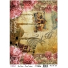 Model 655- Rice Paper Decoupage