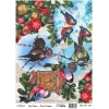 Model 658- Rice Paper Decoupage