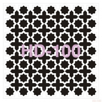 HD100 Home Dekor Stencil